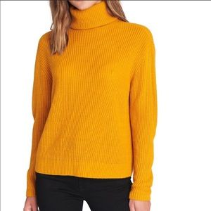 Sanctuary Turtleneck Sweater S Mustard Marigold S
